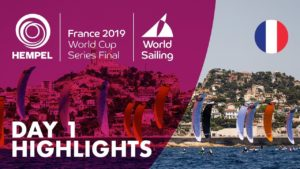 Début de la coupe du monde de voile olympique à Marseille