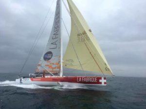 Alan Roura et l'IMOCA La Fabrique battent le record de l'Atlantique
