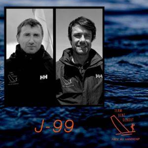 Multi50. Fabrice Payen avec Eric Flageul sur Team Vent Debout