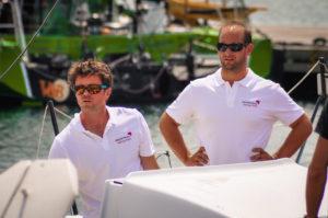 Sébastien Rogues en duo avec Matthieu Souben sur le Multi50 Primonial