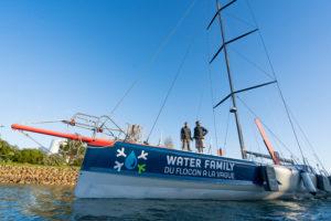 Transat Jacques Vabre. L'IMOCA Water Family de Benjamin Dutreux prêt à prendre le large