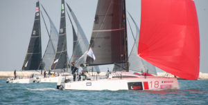 Championnat d'Europe de Course au Large. Pierre Leboucher et Mathilde Géron 4e