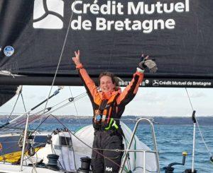 Elodie Bonafous gagnante du challenge Océane Bretagne – CMB