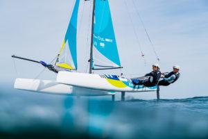 JO. Quentin Delapierre et Manon Audinet qualifient le Nacra pour les Jeux Olympiques
