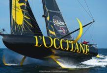 Imoca L'Occitane en Provence avec les 2 foils @Pierre Bouras