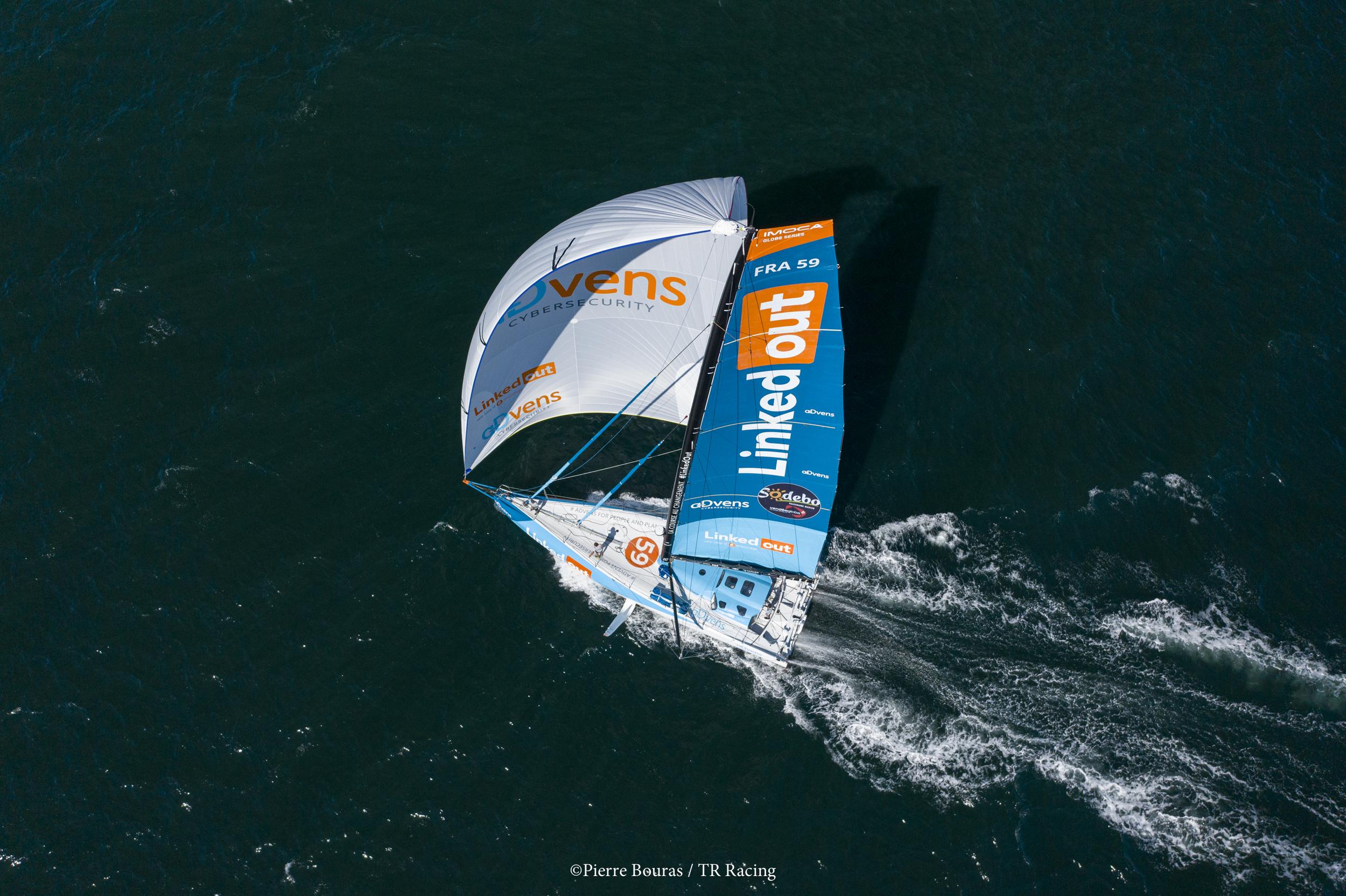Thomas Ruyant toujours en tête - Fil infos - Vendée Globe - Voile