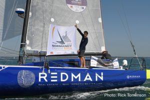 Normandy Channel Race. Le podium pour Antoine Carpentier sur son nouveau Class40 Redman