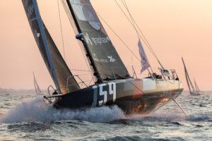 Normandy Channel Race. Duel engagé entre Crédit Mutuel et Banque du Léman