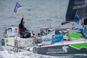 Solitaire du Figaro. Yann Eliès troisième de l'étape reste dans le match