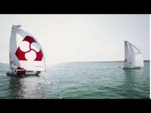 Normandy Channel Race. Match Race en class40