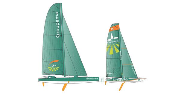 Groupama II et III
