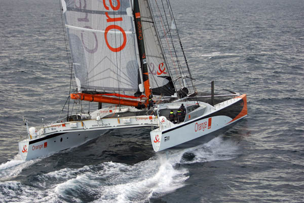 Maxi-Catamaran Orange II