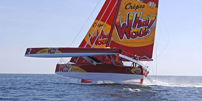 Le nouveau multicoque 50 pieds Crêpes Whaou! de Franck-Yves Escoffier