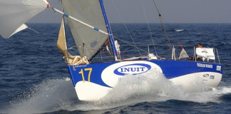Figaro Inuit Cannes Istanbul sous spi