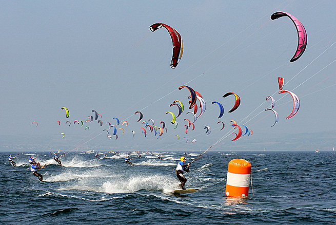 Kite au Grand Prix Petit Navire