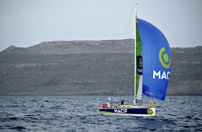 Skipper Macif 2010 François Gabart