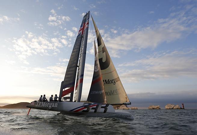 JP Morgan BAR Round the Island 2013