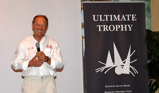 Francis Joyon Ultimate Trophy
