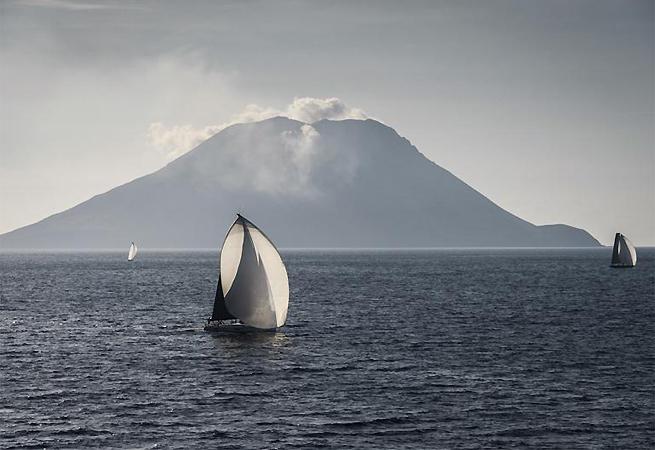 Passage Stromboli Middle Sea Race 2013