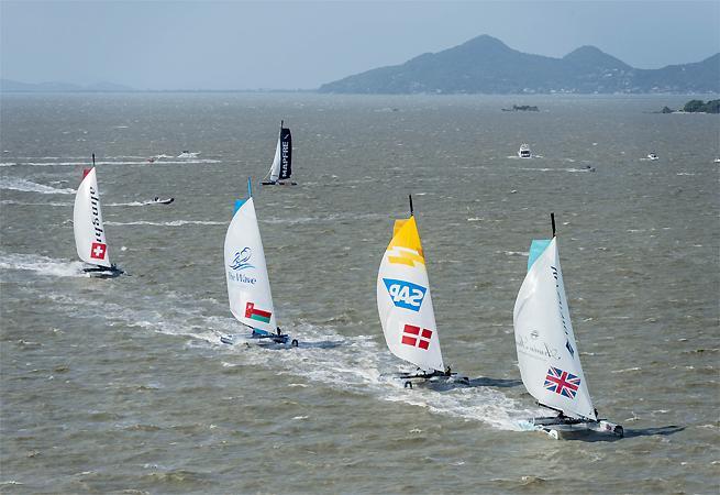 Flotte à Florianopolis 2013