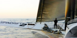 Spindrift Racing convoyage