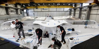 Chantier Spindrift Racing 2014