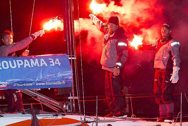 Groupama 34 vainqueur Roscoff