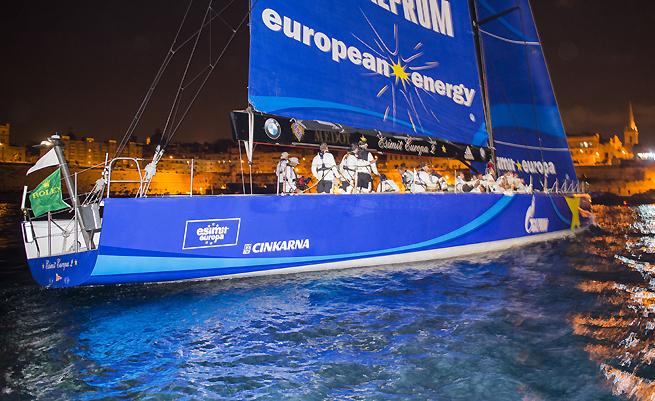 Arrivée Middle Sea Race Esimit Europa 2