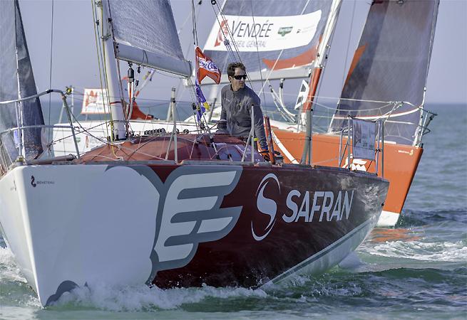 Morgan Lagravière Safran Figaro