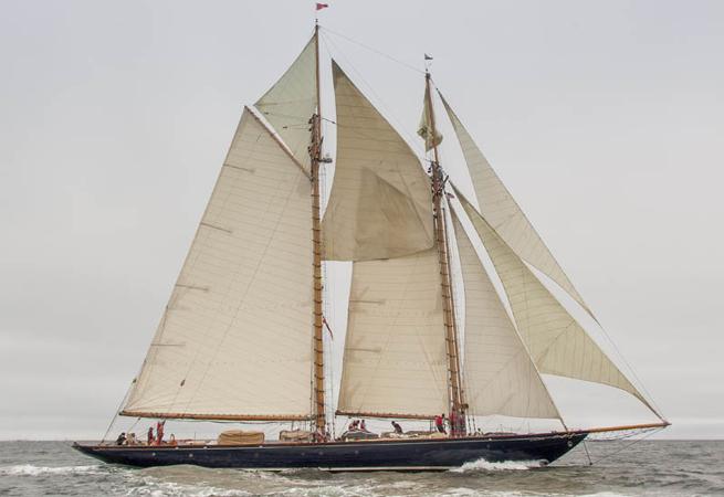 Mariette of 1915 Transatlantic Race