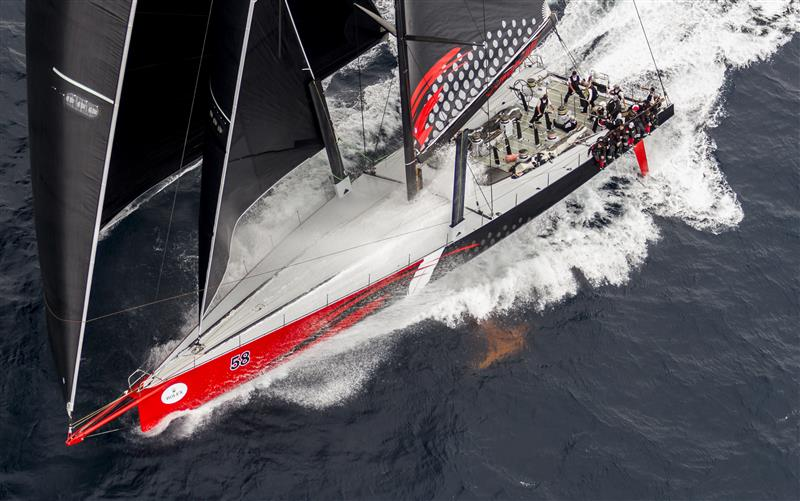 JIM & KIRSTY CLARK'S COMANCHE (USA), LINE HONOURS WINNER OF THE ROLEX SYDNEY HOBART 2015
