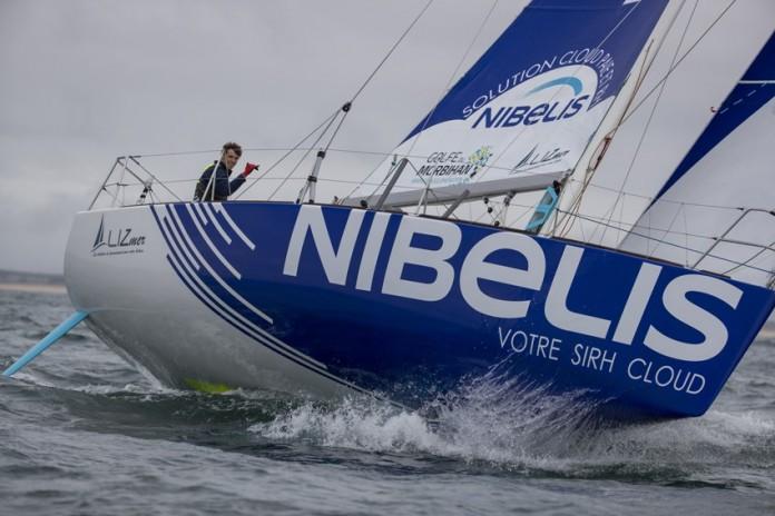Tanguy Le Turquais Course Nibelis Le Figaro