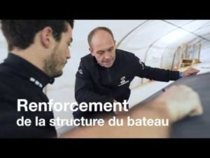 Vendée Globe. Modifications sur l'Imoca PRB