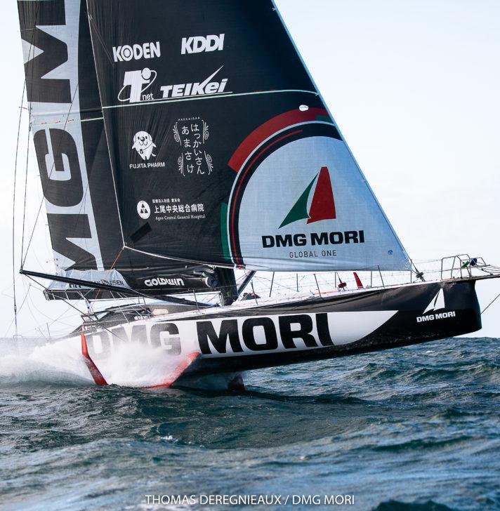 Kojiro Shiraishi - Dmg Mori Global One - IMOCA