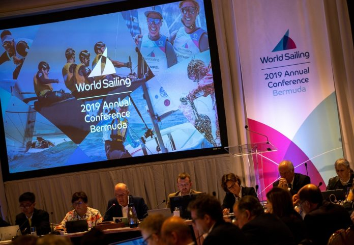 World sailing election