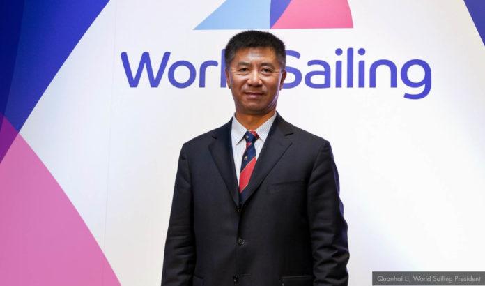 Nouveau président World Sailing