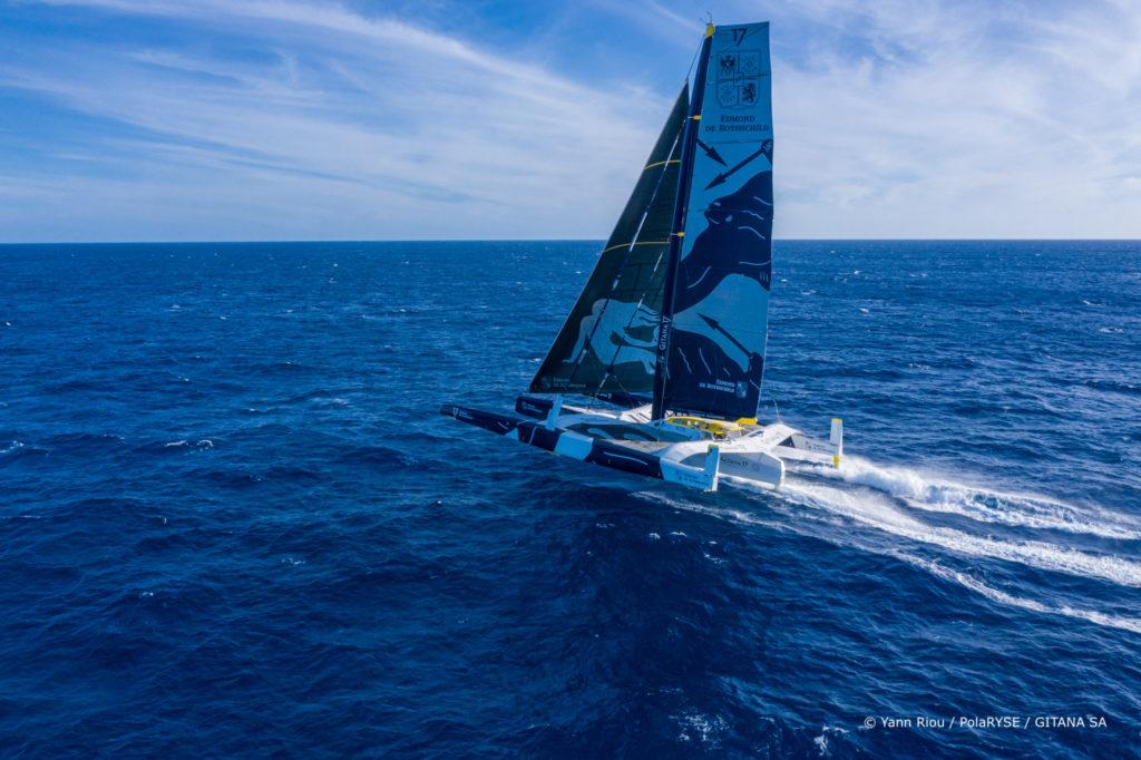 Trophée Jules Verne 2021 Gitana