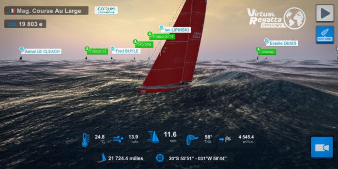 Virtuel regatta Vendée Globe